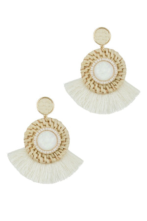 Load image into Gallery viewer, CHELSEY TASSEL EARRINGS