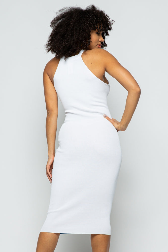 Load image into Gallery viewer, MORLEY DRESS - WHITE