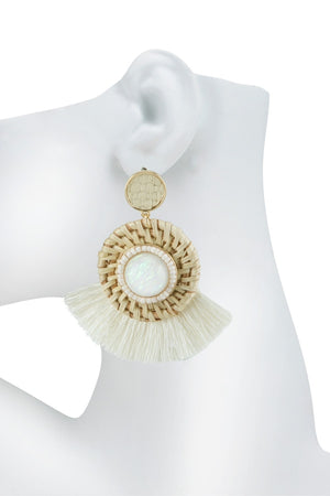 CHELSEY TASSEL EARRINGS