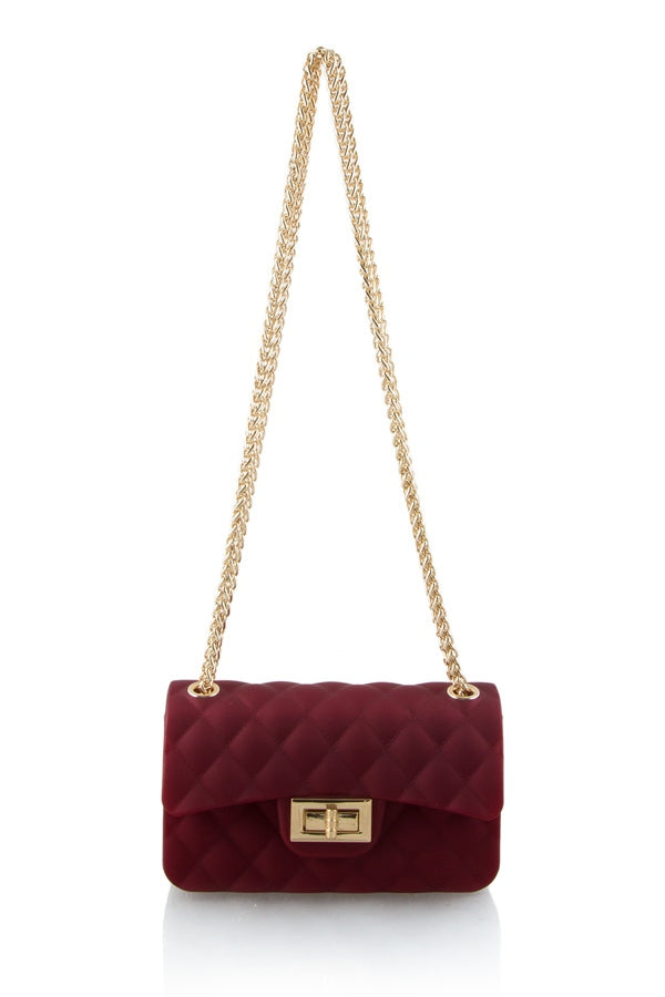 MORYAH JELLY BAG IN WINE