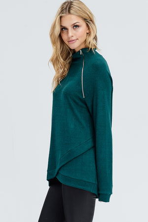 Load image into Gallery viewer, QUINN SWEATER - HUNTER GREEN