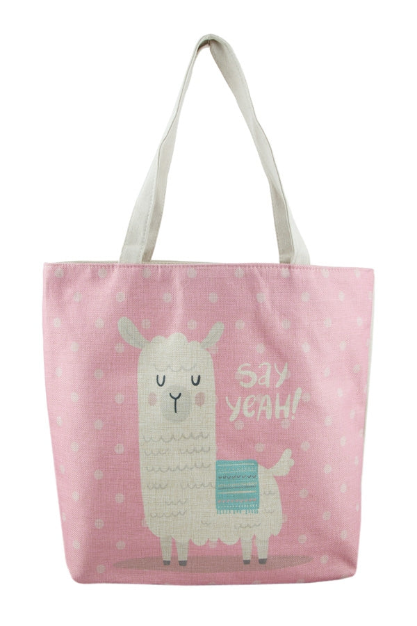 Load image into Gallery viewer, LLAMA LLAMA TOTE BAG