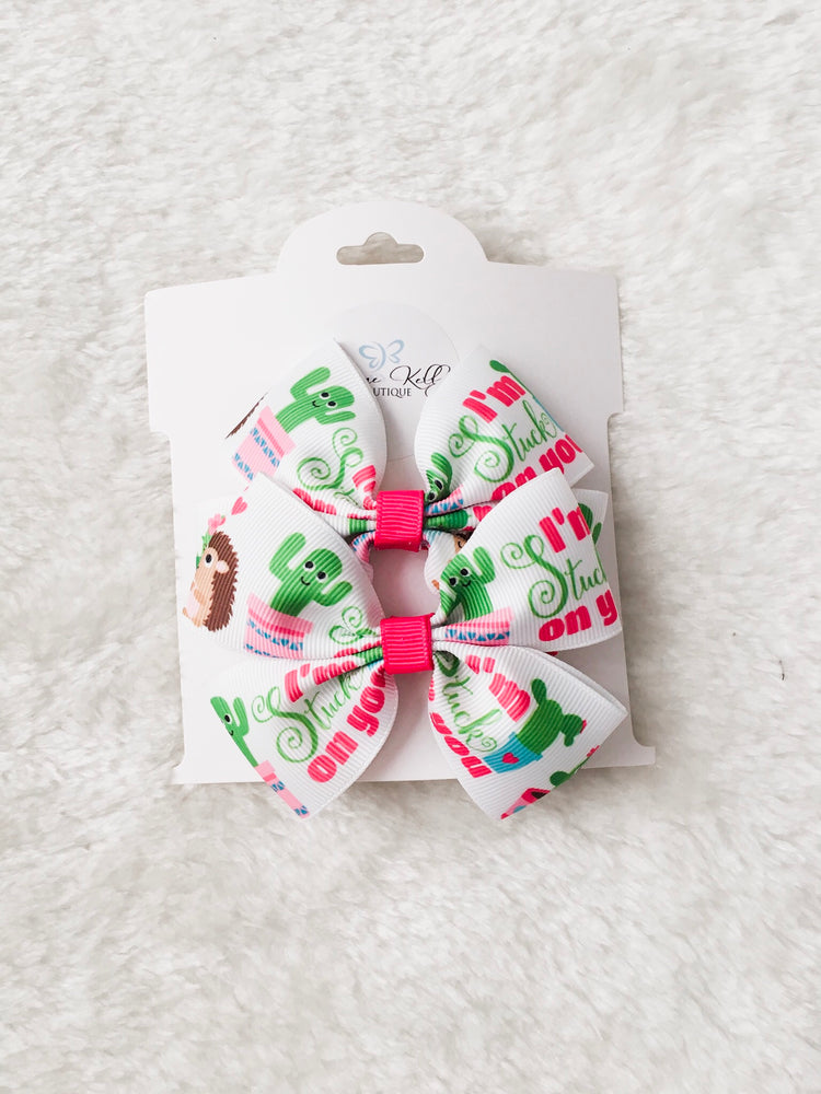 Load image into Gallery viewer, CACTUS CUTIE BOUTIQUE BOW