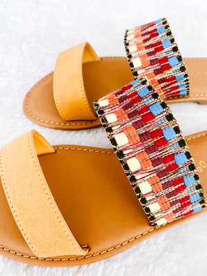 Load image into Gallery viewer, MARIGOLD SANDALS