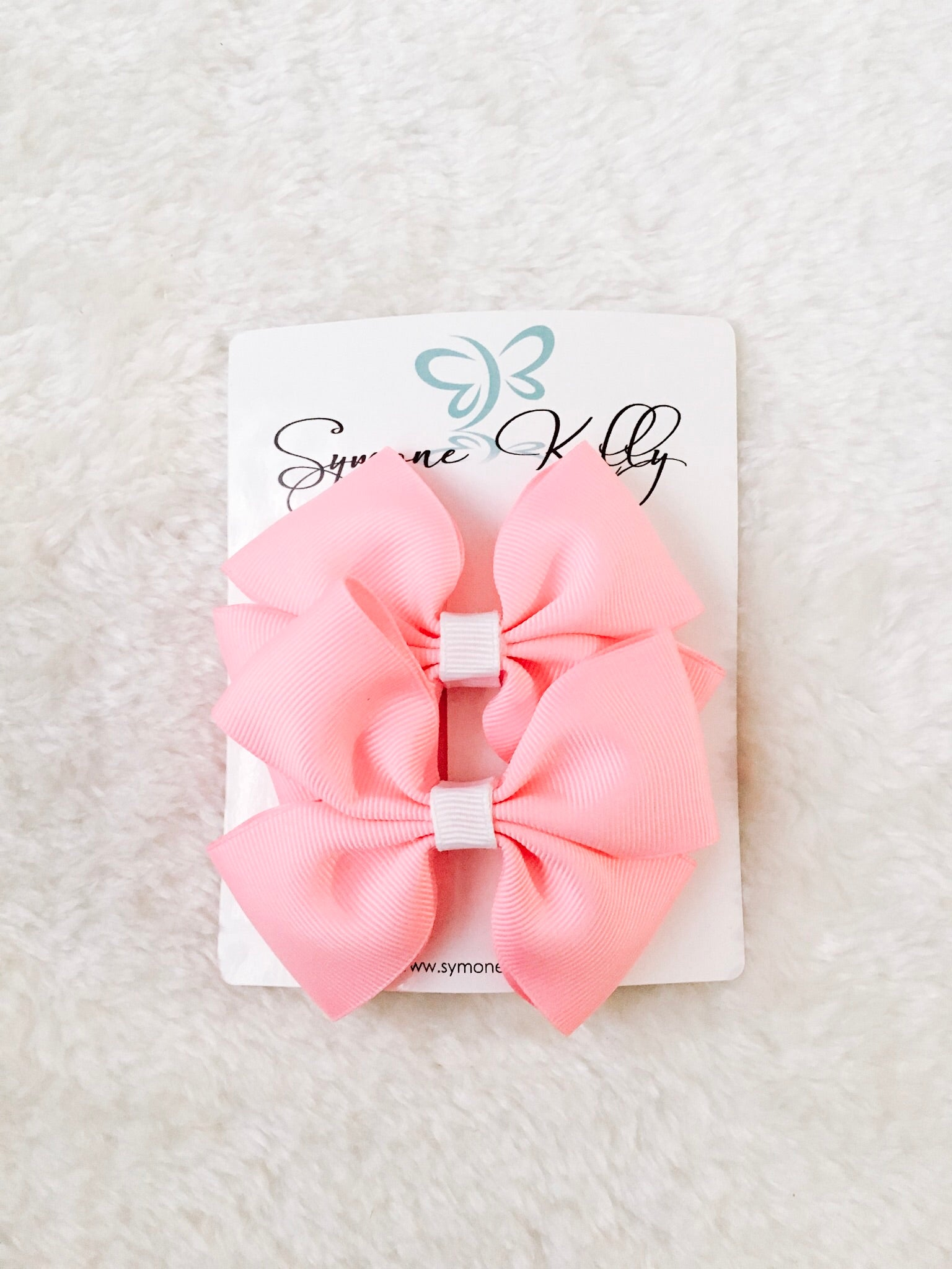 COTTON CANDY PINK BOUTIQUE BOWS