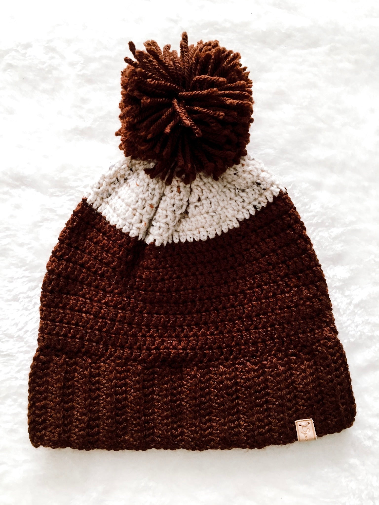 COLE TWO-TONE BEANIE