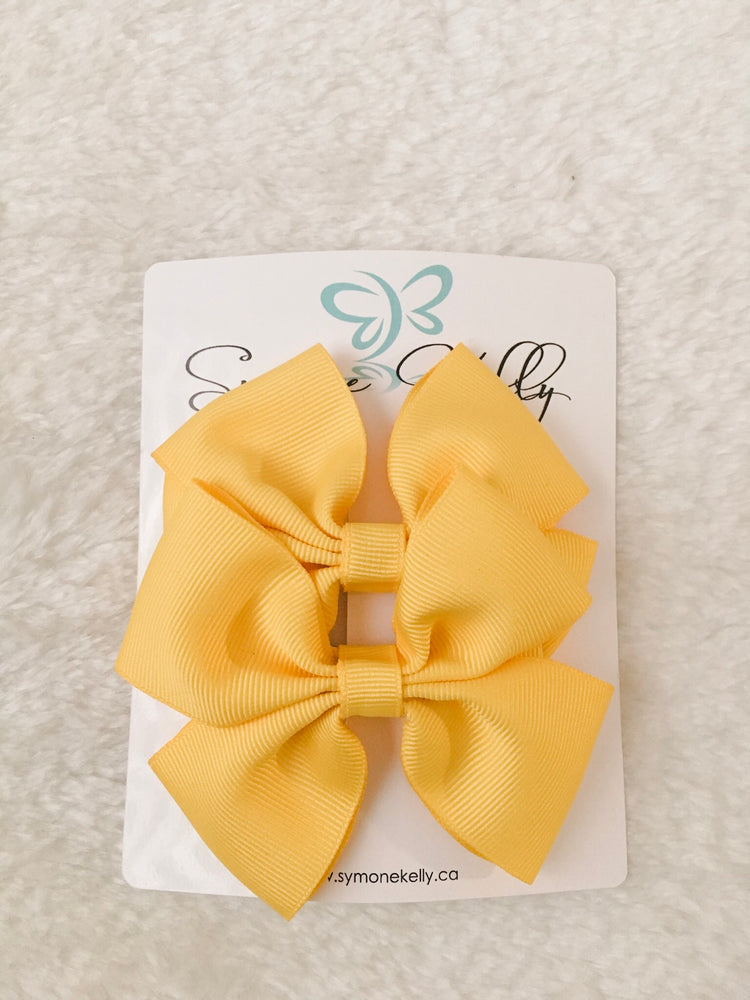 SUMMER DOUBLE BOUTIQUE HAIR BOWS