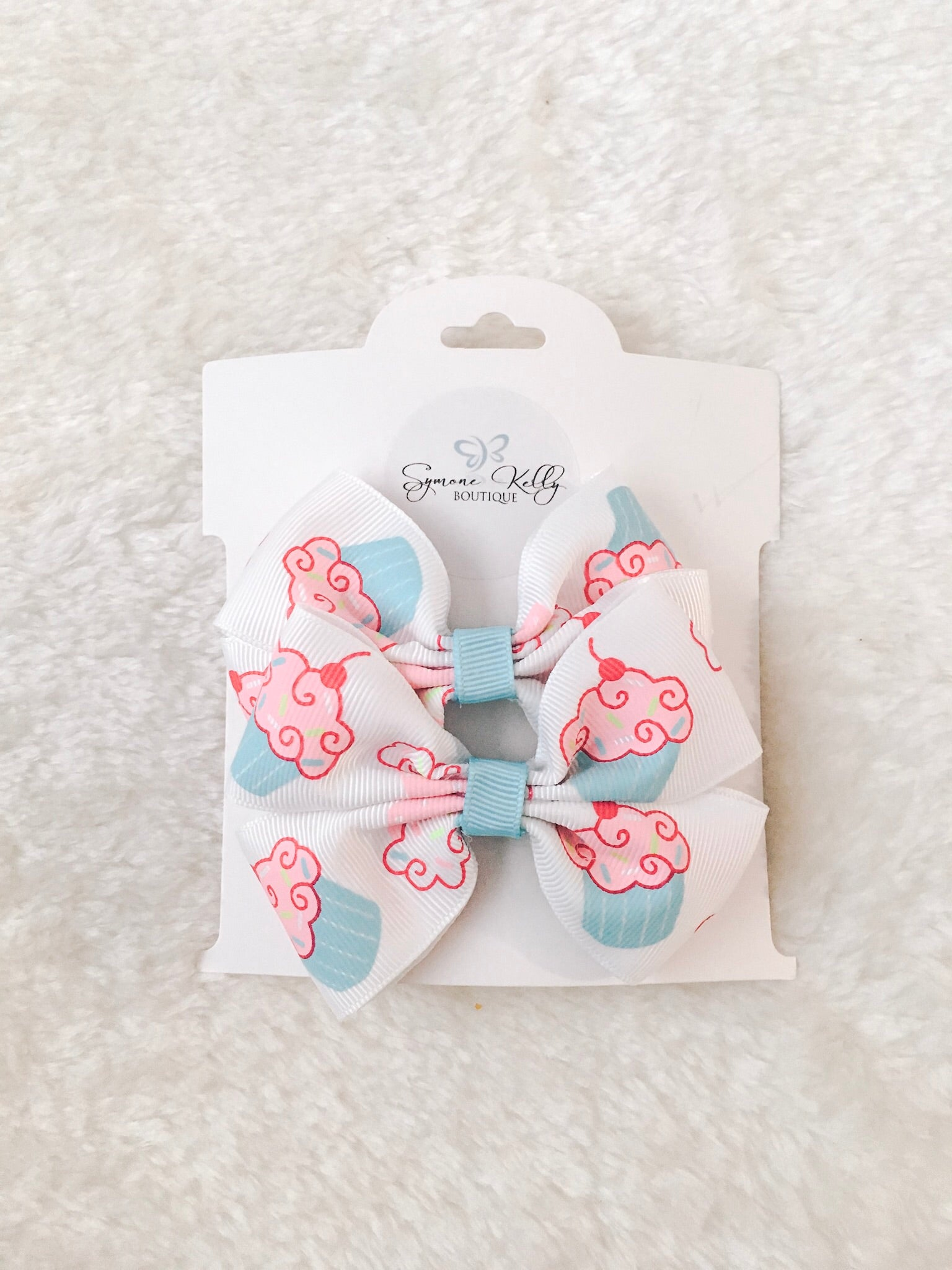 PINK CUPCAKE BOUTIQUE BOWS