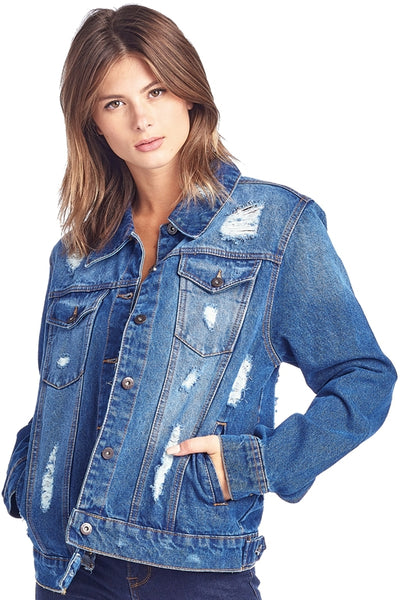 HIT THE ROAD DENIM JACKET