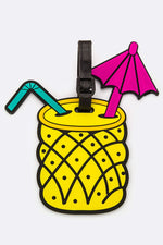 PINEAPPLE CUP LUGGAGE TAG