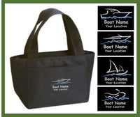 custom embroidered boat 6pk cooler