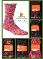 Acorn Fleece Socks.