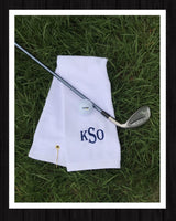 Embroidered Golf Towel - GetawayWear® Inc.
