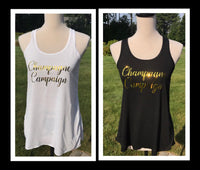 Champagne Campaign Bridal Party Tanks - GetawayWear® Inc.