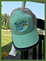 Beach Hair Don't Care Trucker Hat - GetawayWear® Inc.