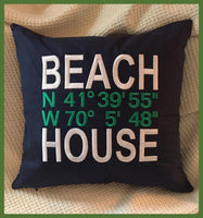 Beach House Pillows.