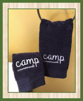 Custom Embroidered Hand Towels (2pk)