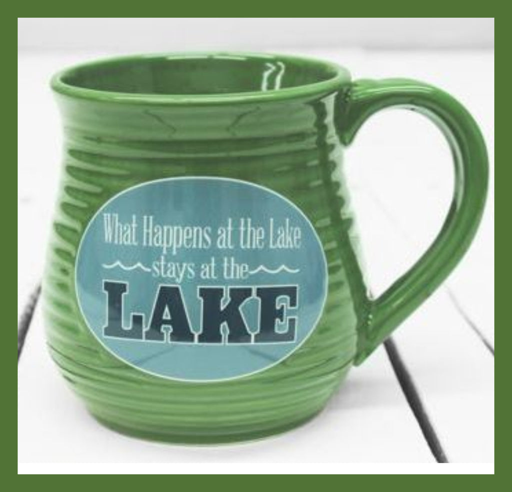 What Happens at the Lake Mug - GetawayWear® Inc.