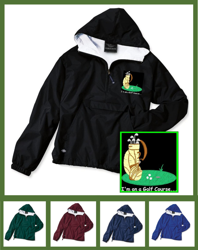 I'm on a Golf Course Pullover - GetawayWear® Inc.