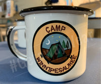 Custom Enamel Camp Mug.