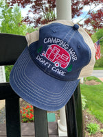Camping Hair Don't Care Trucker Hat - GetawayWear® Inc.