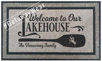 Custom Door Mats - GetawayWear® Inc.