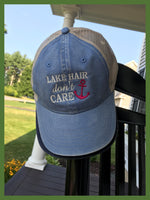 Lake Hair Don't Care Trucker Hat - GetawayWear® Inc.