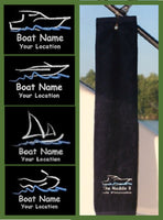 Custom Boat Towels - GetawayWear® Inc.