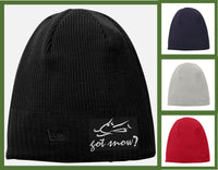 got snow? Beanie - GetawayWear® Inc.