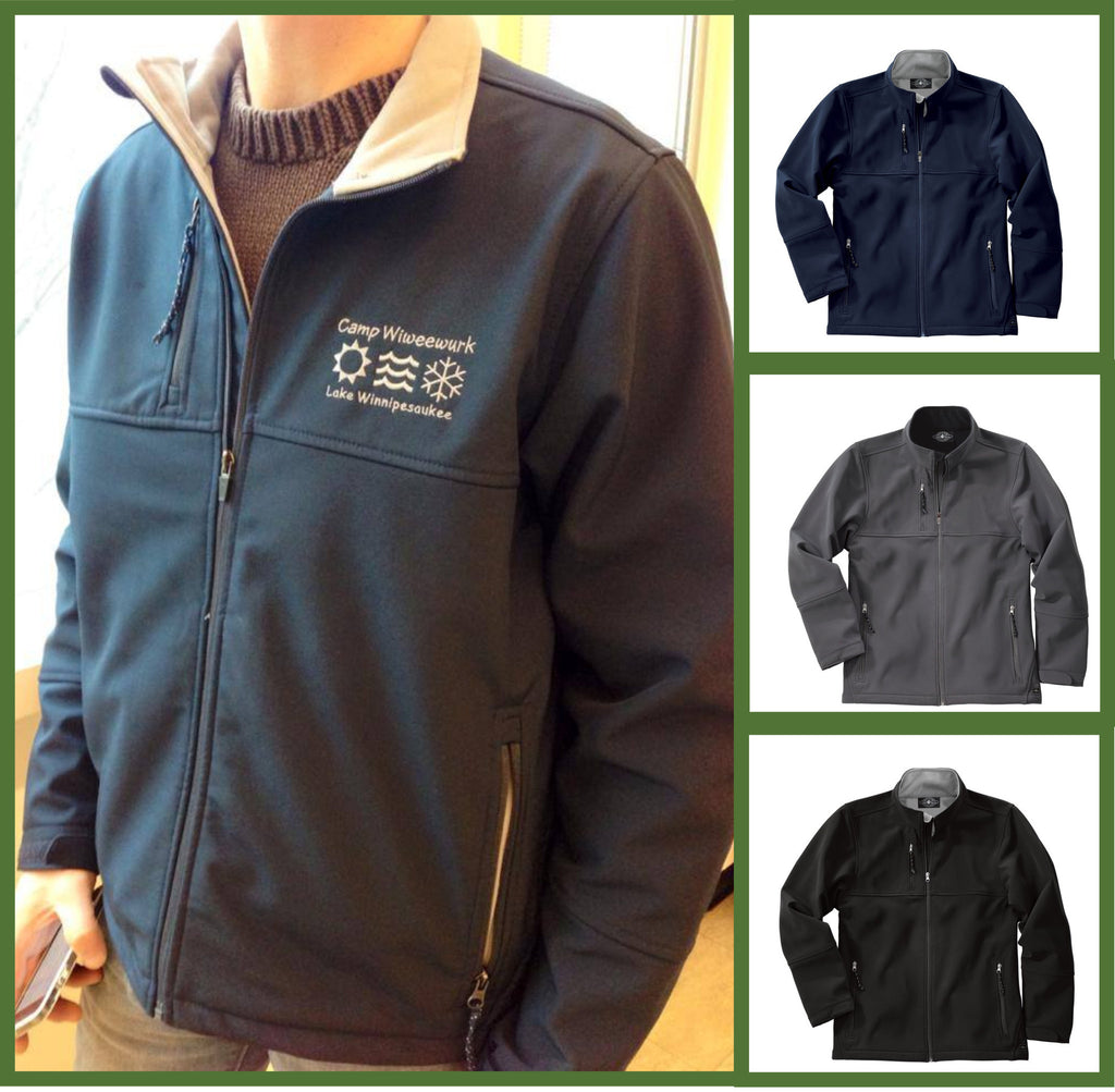 Customized Seasons Ultima Soft Shell Jacket - GetawayWear® Inc.