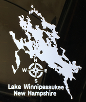 winnipesaukee window decal