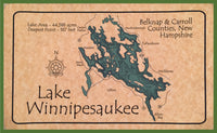 lake winnipesaukee floor mat