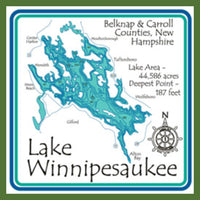 Lake Winnipesaukee Trivet - GetawayWear® Inc.