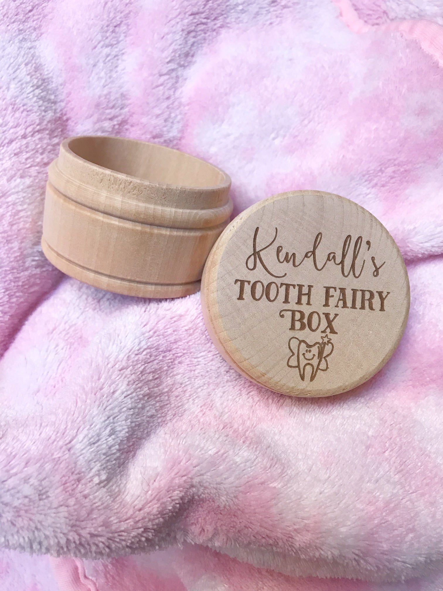 New Product Alert! Engraved Tooth Fairy Box!