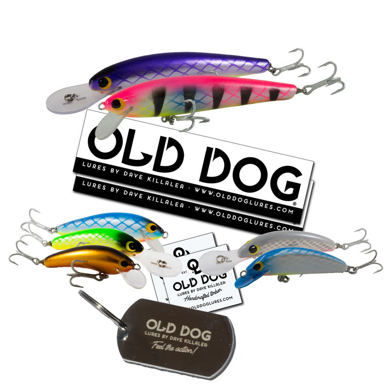 Old Dog Lures - Handmade wooden fishing lures by Dave Killalea