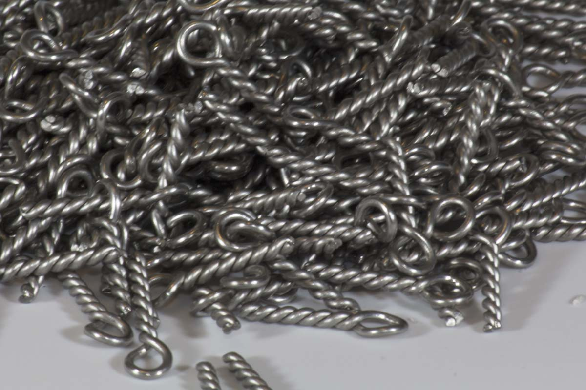 316 Stainless Wire | Old Dog Custom Made Twisted Wire Eyelets 1 2mmx20mm 316