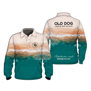 OLD DOG FISHING SHIRT - MADE IN AUSTRALIA