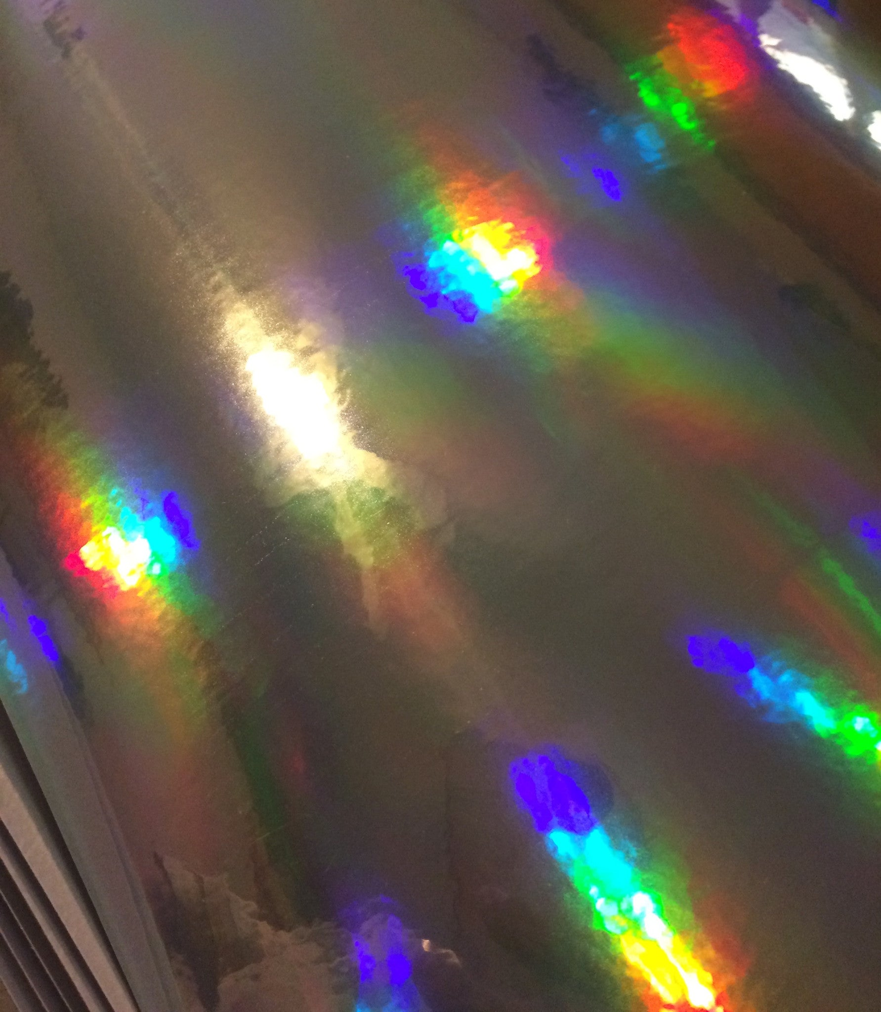 Oil Slick Holographic Vinyl