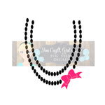 Gumball Necklace Cut File with Bow