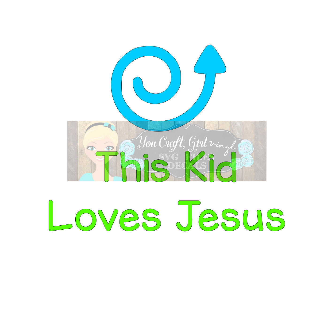 This Kid Loves Jesus Arrow Svg Dxf   Commercial Use SVG   tshirt svg   Christian SVG   Religious decal   Love Jesus   child clothing HTV svg