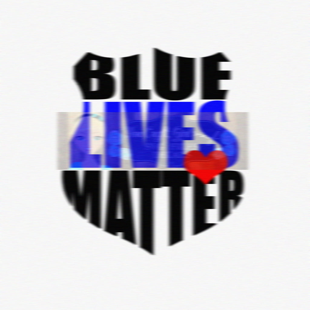 Blue Lives Matter Cut File