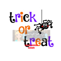 Trick or Treat Spider Svg Dxf Png Pdf   Commercial Use Svg   Halloween Sign   Halloween SVG   Cartoon Spider svg   tshirt svg   holiday svg