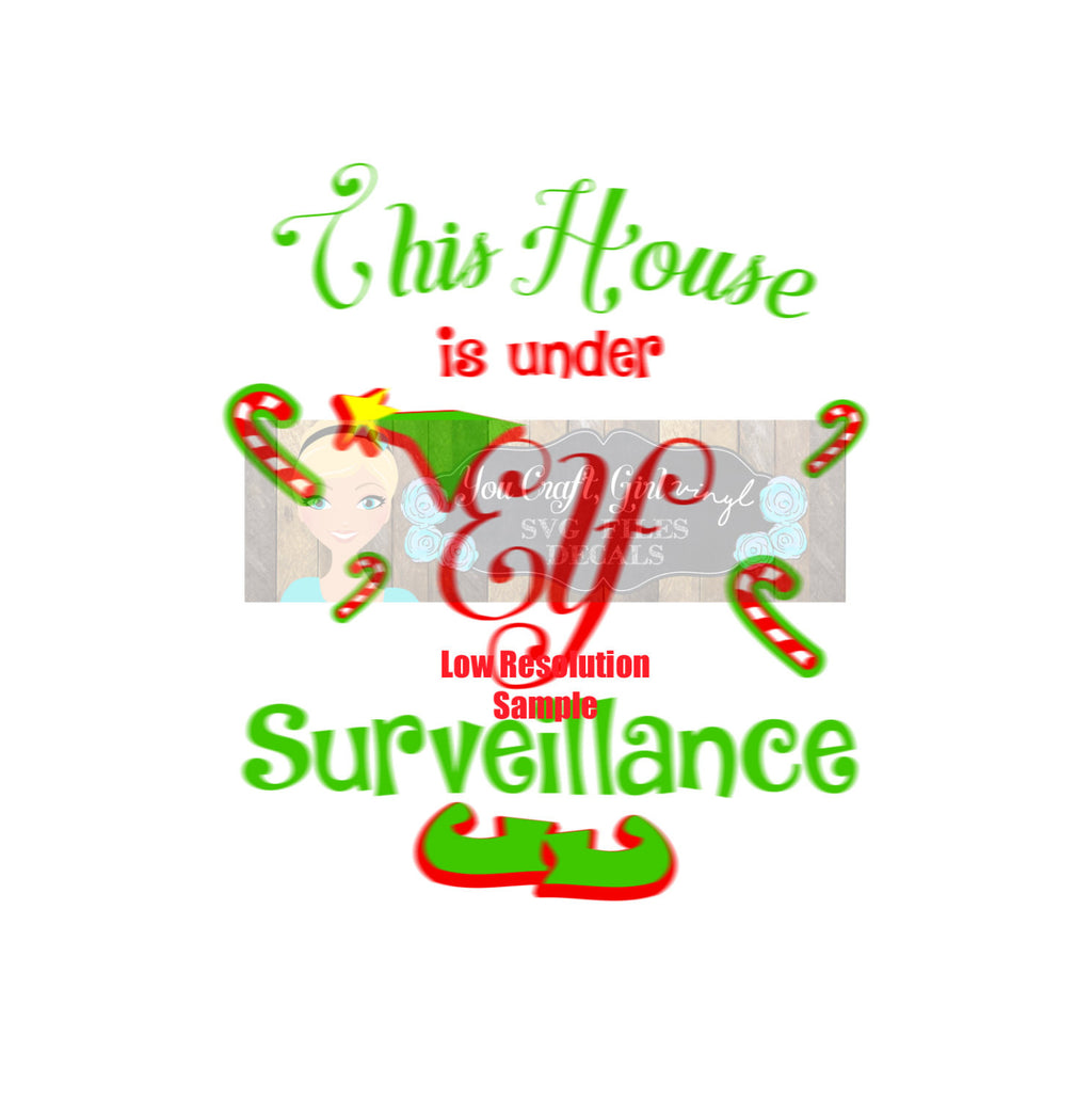 Elf Surveillance Cam Cut File