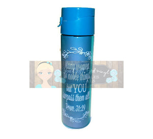 Many Women Do Noble Things Proverbs 31:29 Svg Dxf Png Pdf   Commercial Use SVG Water Bottle decal   tshirt   home decor   Bible SVG file