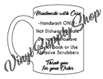 Mug Care Tag *Printable*
