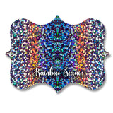 Holographic Rainbow Sequin Vinyl