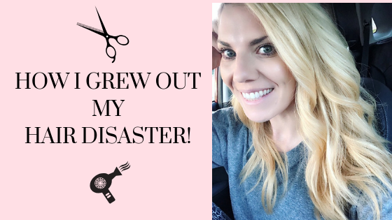 How I Grew Out My Hair Disaster!