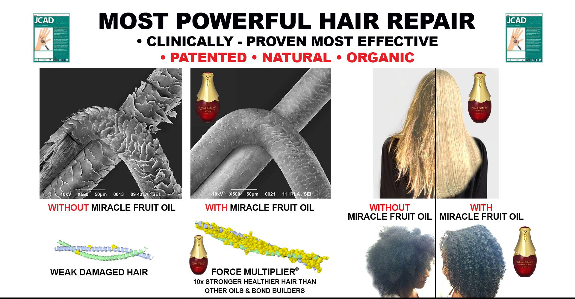Miracle Fruit Seed Oil Treatment