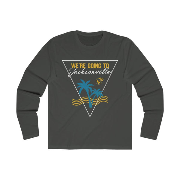 We're Going To Jacksonville Long Sleeve metal black