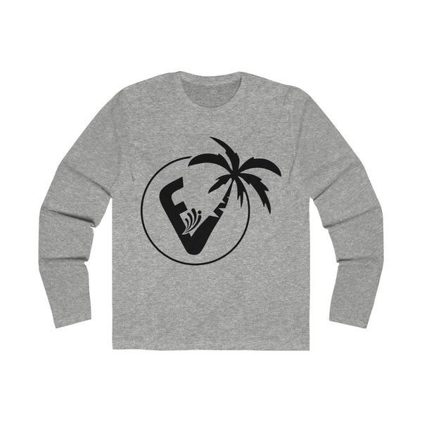 Vice City Long Sleeve Grey T-Shirt
